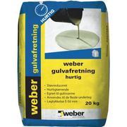 Weber gulvafretning hurtig - 20 kg