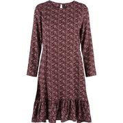 Y.A.S Peplum Long Sleeved Dress Brown/Decadent Chocolate (26008861)