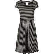 Vero Moda Feminine Short Sleeved Dress Black/Black (10174791)