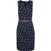 Vero Moda Feminine Sleeveless Dress Blue/Black Iris