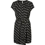 Vero Moda Feminine Short Sleeved Dress Black/Black