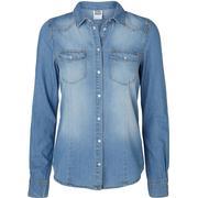 Vero Moda Denim Shirt Blue/Light Blue Denim