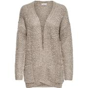 Only Loose Knitted Cardigan Grey/Simply Taupe (15133635)