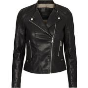 Vero Moda Short Leather-look Jacket Black/Black