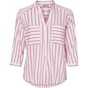 Vero Moda Striped 3/4 Sleeved Shirt Pink/Azalea Pink (10188642)