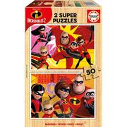 Educa The Incredibles 2 2x50 Pieces