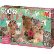 Jumbo Studio Pets Happy Birthday 500 Pieces