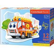Castorland Fire Truck XXL 12 Pieces