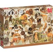 Jumbo Premium Collection Dogs Poster 1000 Pieces