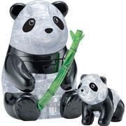 Hcm-Kinzel Crystal Puzzle Panda Couple 51 Pieces