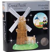 Hcm-Kinzel Crystal Puzzle Windmill 64 Pieces