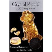Hcm-Kinzel Crystal Puzzle Golden Retriever 41 Pieces