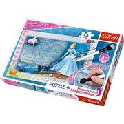 Trefl Disney Princess Puzzle + Magic Marker