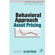 A Behavioral Approach to Asset Pricing (Academic Press Advanced Finance Series)