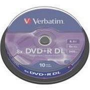 Verbatim DVD+R 8.5GB 8x Spindle 10-Pack
