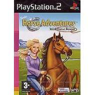 PlayStation 2-spel Barbie Horse Adventures: Wild Horse Rescue