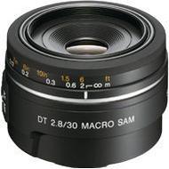 Macro Kamera Objektiver Sony SAL-30M28 Macro DT 30mm F2.8 SAM