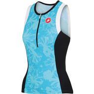 Våtdräktsdelar Våtdräktsdelar Castelli Free Tri Singlet Sleeves Less Top W