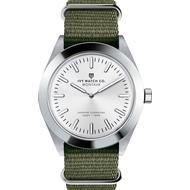 Herreur Herreur Ivy Watch Co. Montauk Nylon Nato Olive Off White