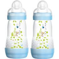 Babyudstyr Mam Sutteflaske Anti Colic 260ml 2-pak