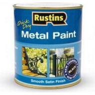 Metal Paint Metal Paint price comparison Rustins Quick Dry Metal Paint Black 0.5L