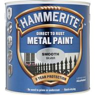 Metal Paint Metal Paint price comparison Hammerite Direct to Rust Smooth Effect Metal Paint Silver 2.5L