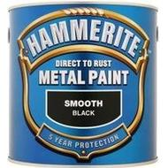 Metal Paint Metal Paint price comparison Hammerite Direct to Rust Smooth Effect Metal Paint Black 2.5L