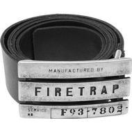 Herrkläder Firetrap Gate Belt - Black