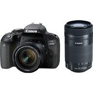 Canon APS-C Digitalkameror Canon EOS 800D + 18-55mm IS STM + 55-250mm IS STM
