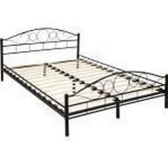 Sängar och Madrasser tectake Bed Frame Sängram 140x200cm