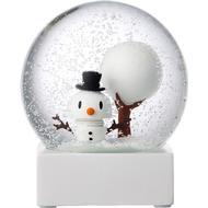 Snekugle Snekugle Hoptimist Snowman Snow Globe Julepynt Snekugler