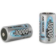 Batteries Batteries price comparison Ansmann NiMH Mono D Typ 10000mAh 2-pack