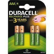 Batteries Batteries price comparison Duracell AAA Rechargeable Plus 4-pack