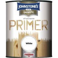 Metal Paint Metal Paint price comparison Johnstones Speciality All Purpose Primer Wood Paint, Metal Paint White 0.25L
