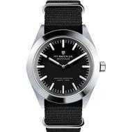 Herreur Herreur Ivy Watch Co. Montauk Nylon Nato Black Charcoal