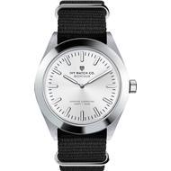Herreur Herreur Ivy Watch Co. Montauk Nylon Nato Black Off White