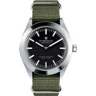 Herreur Herreur Ivy Watch Co. Montauk Nylon Nato Olive Charcoal
