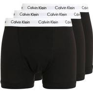 Boxer Herrkläder Calvin Klein Trunks Cotton Stretch 3-pack - Black