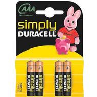 Watch Batteries Watch Batteries price comparison Duracell AAA Simply Compatible 4-pack