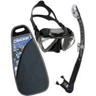 Snorkel Snorkel Cressi Penta & Alpha Ultra Dry