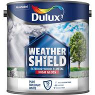 Metal Paint Metal Paint price comparison Dulux Weathershield Exterior Wood Paint, Metal Paint White 2.5L
