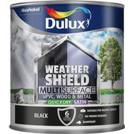 Metal Paint Metal Paint price comparison Dulux Weathershield Multisurface Wood Paint, Metal Paint Black 2.5L