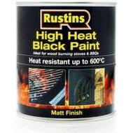 Metal Paint Metal Paint price comparison Rustins High Heat Metal Paint Black 0.5L