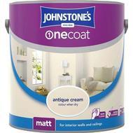 Ceiling Paint Ceiling Paint price comparison Johnstones One Coat Wall Paint, Ceiling Paint Off-white 2.5L