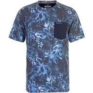 Herrkläder SoulCal AOP Pocket T-shirt - Navy Floral