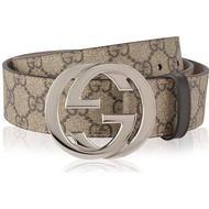 Herrkläder Gucci GG Supreme Belt Beige/Ebony