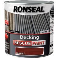 Wood Paint Wood Paint price comparison Ronseal Decking Rescue Wood Paint Brown 2.5L