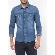 Skjortor Herrkläder Lee Western Shirt Blue Stance