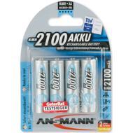 Camera Batteries Camera Batteries price comparison Ansmann NiMH Mignon AA 2100mAh MaxE Compatible 4-pack