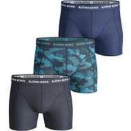 Boxer Herrkläder Björn Borg Shadeline Essential Shorts 3-pack - Total Eclipse